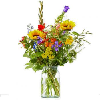 Dokkum flowers  -   Bouquet Radiant Flower Delivery