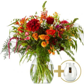 Rhoon flowers  -  Evening glow bouquet Flower Delivery