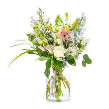 Hillegom flowers  -  Bouquet I think of you Flower Delivery