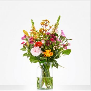 Berghem blomster- Munter Picking Bouquet Blomst Levering