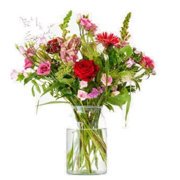 Copenhague Floristeria online - Bouquet Pampering Time Ramo de flores