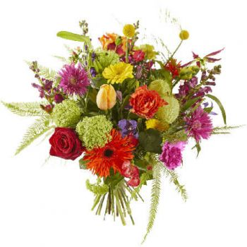 Wijk bij Duurstede flowers  -  Bouquet Color Palette Flower Delivery