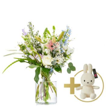 Korvel flowers  -  Bouquet Lovingly Flower Delivery