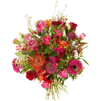 Hillegom flowers  -  Royal Bouquet Flower Delivery