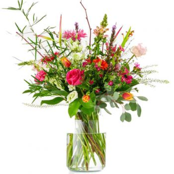 Amsterdam online Florist - Unique Surprise Bouquet