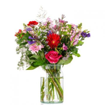 Amsterdam bloemen bloemist- Happy Birthday Bouquet Bloem Levering