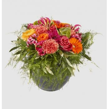 Holland blomster- Happy Flower Arrangement Levering