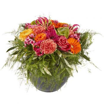Amsterdam blomster- Happy Flower Arrangement Levering