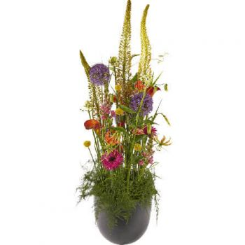 Copenhagen flowers  -  Luxury Colourful Flower Arrangement Delivery