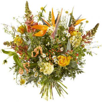 The Hague online Florist - Fiery Sun Bouquet