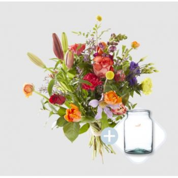 Roermond flowers  -  You are my valentine bouquet Flower Delivery