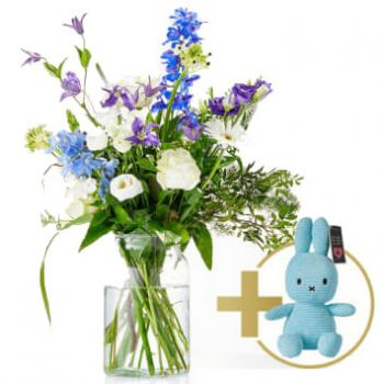 Aalsmeer flowers  -  Welcome boy bouquet Flower Delivery