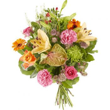 Waalwijk flowers  -  Heartily Flower Delivery