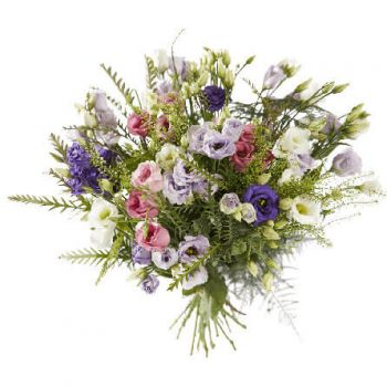 Amsterdam online Florist - Colorful eustoma Bouquet