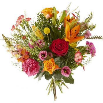 Wijk bij Duurstede flowers  -  Cheerful field bouquet Flower Delivery