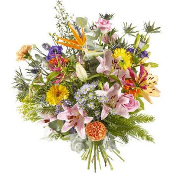 Wisch flowers  -  Plenty of joy Flower Delivery