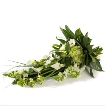 Groningen flowers  -  Funeral bouquet white Flower Delivery