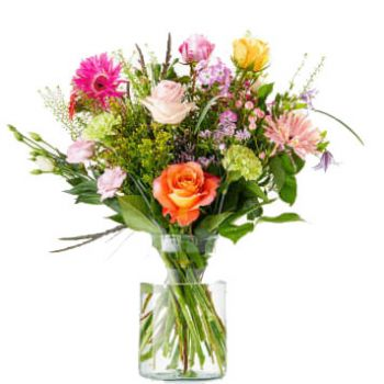 Amsterdam flowers  -  Congratulations Flower Delivery
